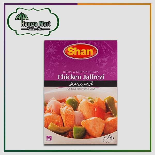 Shan Masala Chicken Jalfrezi 50gm Hamzamart